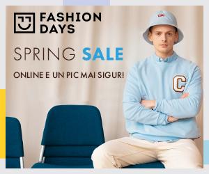 Campanie de reduceri Spring Sale - reduceri la articolele pentru barbati