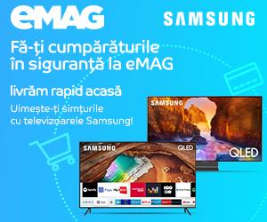 Campanie de reduceri Campanie Livrare rapida - Televizoare Samsung