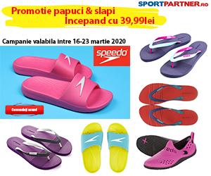 Campanie de reduceri Promotie Speedo - papuci inot