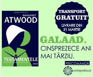 Campanie de reduceri Cartea momentului cu transport gratuit - Testamentele de  Margaret Atwood