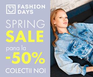 Campanie de reduceri Spring Sale - reduceri de pana la 50% la colectiile noi pentru femei