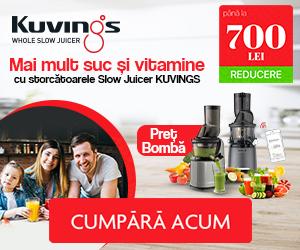 Campanie de reduceri Mai mult suc si vitamine!