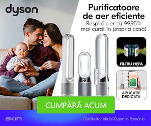 Campanie de reduceri Descopera purificatoarele de aer Dyson!