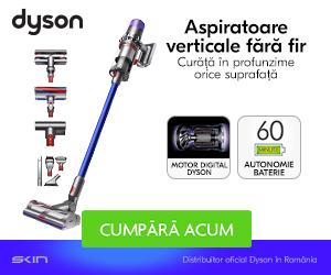 Campanie de reduceri Descopera gama de aspiratoare Dyson!
