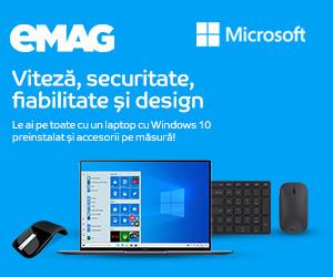 Campanie de reduceri Windows devices + Office  + PCA