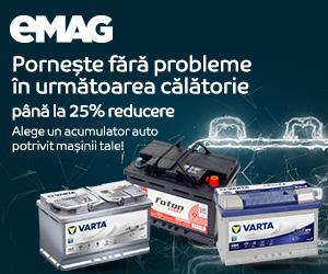 Campanie de reduceri Campanie acumulatori auto, 01- 31.05.2020