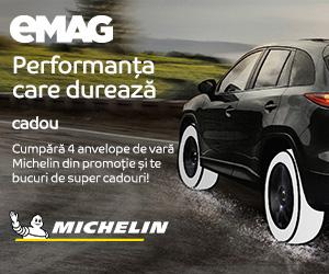 Campanie de reduceri Campanie anvelope Michelin cu voucher cadou, 01- 31.05.2020
