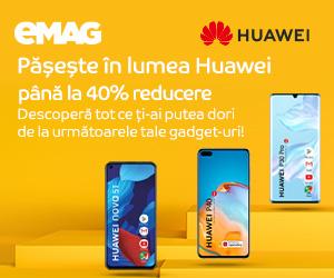 Campanie de reduceri Campanie Huawei Week