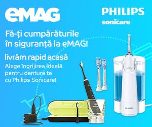 Campanie de reduceri Philips Sonicare