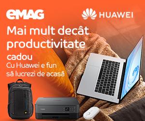 Campanie de reduceri Laptopuri Huawei