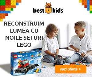 Campanie de reduceri Reconstruim lumea cu Noile seturi LEGO! REDUCERI de pana la 20%
