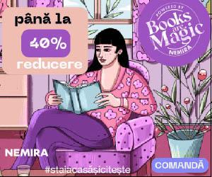 Campanie de reduceri Books are Magic - peste 1000 de titluri cu pana la 40% reducere