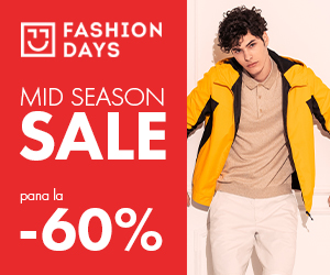 Campanie de reduceri Mid Season Sale - pana la -60% la articolele pentru barbati