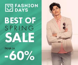 Campanie de reduceri Best Of Spring Sale (refresh barbati)
