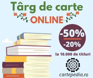 Campanie de reduceri Târg de carte cu 10.00 de titluri - online, pe Cartepedia.ro