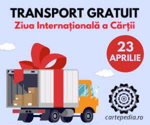 Campanie de reduceri TRANSPORT GRATUIT de Ziua Internațională a Cărții - doar pe Cartepedia.ro