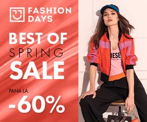 Campanie de reduceri Best of Spring Sale - pana la 60% reducere la articolele pentru femei