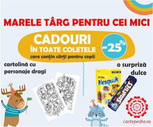 Campanie de reduceri Marele târg pentru cei mici! - Cadouri în colete!!