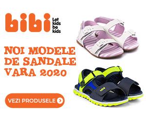 Campanie de reduceri Colectia Sandale 2020