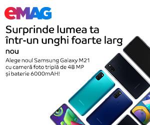 Campanie de reduceri Campanie Samsung Galaxy M21