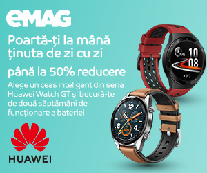 Campanie de reduceri Campanie Huawei Watch GT