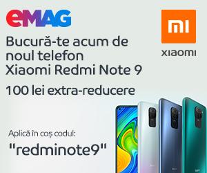 Campanie de reduceri Campanie Xiaomi Redmi Note 9