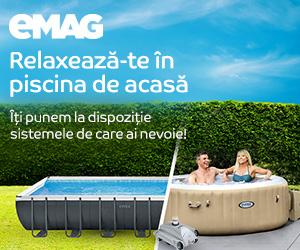 Campanie de reduceri Campanie piscine si accesorii pentru piscine, 01- 30.06.2020
