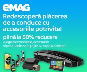 Campanie de reduceri Campanie car accesories si car electronics iunie, 01- 30.06.2020