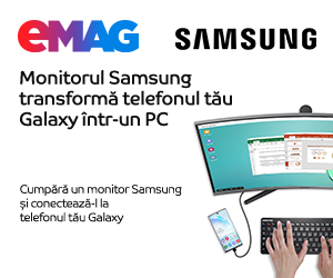 Campanie de reduceri Promo Samsung DeX