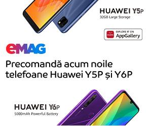 Campanie de reduceri Campanie precomanda Huawei Y6P si Y5P