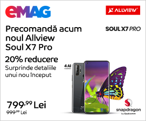 Campanie de reduceri Campanie precomanda Allview Soul X7 Pro