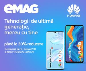 Campanie de reduceri Campanie Huawei seria P30