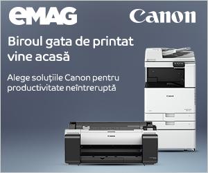 Campanie de reduceri Online advertising Canon