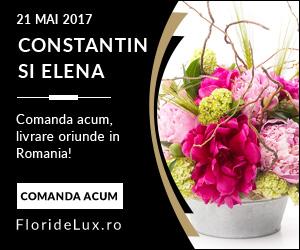 Campanie de reduceri Flori Sfintii Constantin si Elena