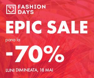 Campanie de reduceri Epic Sale - pana la -70% (incepe luni dimineata)