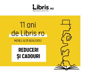 Campanie de reduceri 11 ani de Libris.ro! CADOURI si REDUCERI care ne transpun Mereu in Alta Realitate!