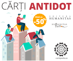 Campanie de reduceri Cărțile antidot ale luni mai - Editura Humanitas 50% reducere!