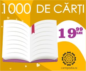 Campanie de reduceri 1000 de titluri cu preÈ› fix - 19,99 lei!!