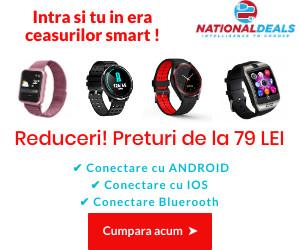 Campanie de reduceri Ceasuri smart
