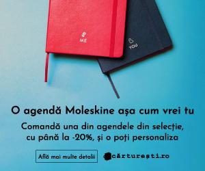 Campanie de reduceri O AGENDĂ MOLESKINE AȘA CUM VREI TU