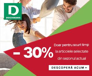Campanie de reduceri Campanie Deichmann: -30% la articolele selectate din sezonul actual
