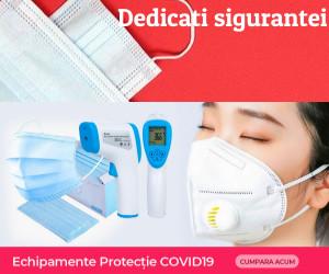 Campanie de reduceri Echipamente protectie COVID19