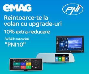 Campanie de reduceri Voucher 10% extra reducere car electronics PNI, 18- 31.05.2020
