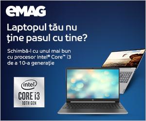 Campanie de reduceri Laptopuri cu procesor i3 a 10-a gen