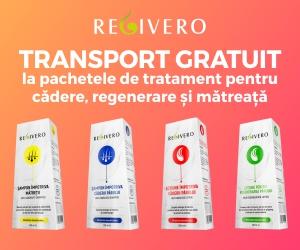 Campanie de reduceri TRANSPORT GRATUIT la toate tratamentele de par REGIVERO