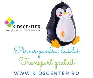 Campanie de reduceri Transport gratuit pisoar pinguin