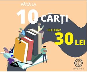 Campanie de reduceri Până la 10 cărți cu 30 lei!