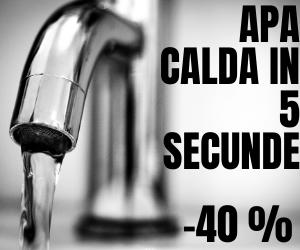 Campanie de reduceri -20 % Robinet Electric - Apa Calda in 5 secunde