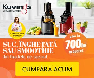 Campanie de reduceri Suc, inghetata sau smoothie din fructele de sezon!