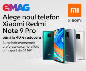 Campanie de reduceri Campanie Xiaomi Redmi Note 9 Pro